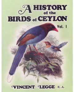 A History of the Birds of Ceylon Volume I