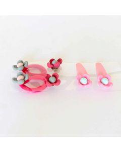 Baby Set Earrings Hair Bands Hair Clips