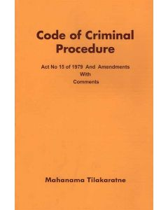 Code of Criminal Procedure Act No 150 of 1970 and Amendments with comments