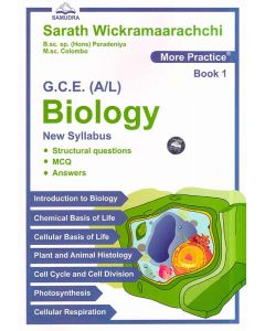 GCE AL Biology Structural Questions MCQ Answers Book 1