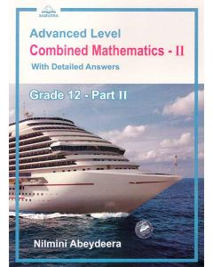 GCE AL Combined Mathematics II Grade 12 With Detailed Answers Part ii