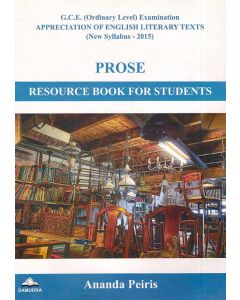 GCE OL Prose Resource Book For Students