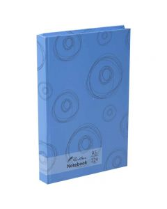 Panther A5 Diary Notebook Blue Circles