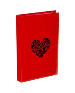 Panther A5 Diary Notebook Heart