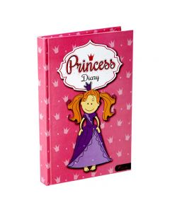 Panther A5 Diary Notebook Princess