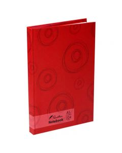 Panther A5 Diary Notebook Red Circles