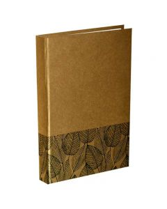 Panther A5 Size Dairy Notebook Natural Brown