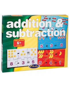 Panther Addition & Substraction Puzzle