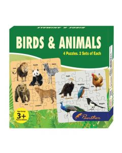 Panther Birds & Animals Puzzle