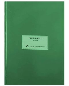 Panther Check Roll 80 Pages Green