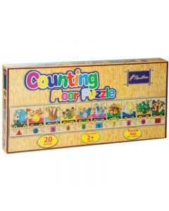 Panther Counting Floor Puzzle