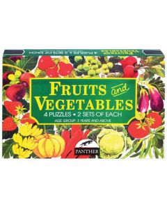 Panther Fruits & Vegetables Puzzle