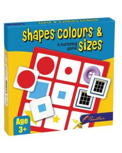 Shapes, Colour & Sizes