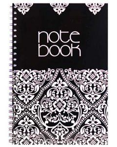 Panther Side Spiral Binding 100 Blank Page Notebook A4 Liyawela