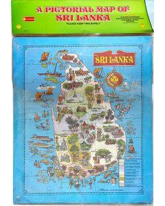 Panther Sri Lanka Map Puzzlee English